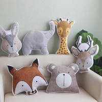 Bobby Bunny - Decorative Kids Pillow