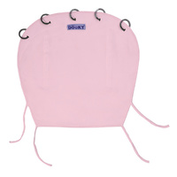 PRAM SUNSHADE CURTAIN / PINK